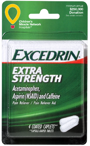 Excedrin Extra Strength Convenience Valet