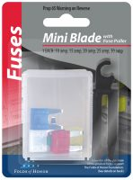 Mini Blade Fuses w-Puller 3056