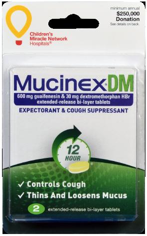 Mucinex dm 12 hour