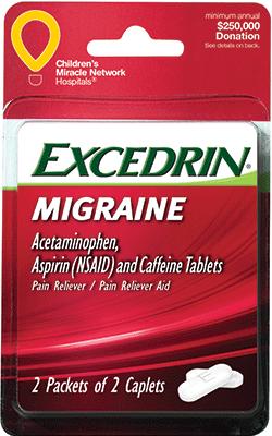 Excedrin Migraine 4ct