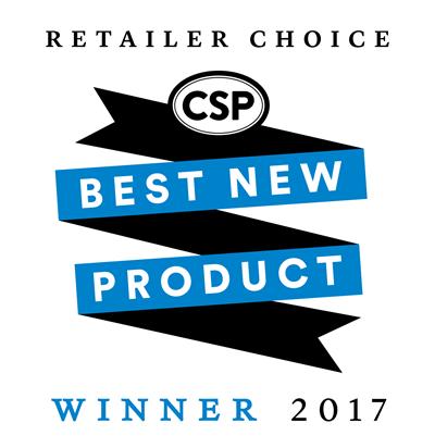 best new product winner logo