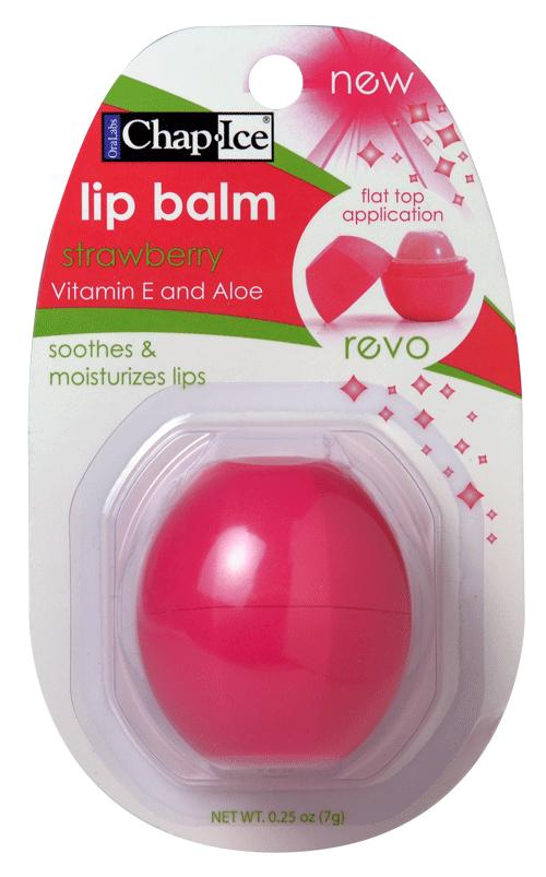 Revo Strawberry Lip Balm